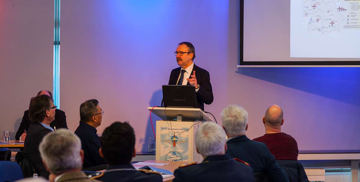 Gunter Schmidt, VP DAeC III. RotorDrone Forum Bückeburg