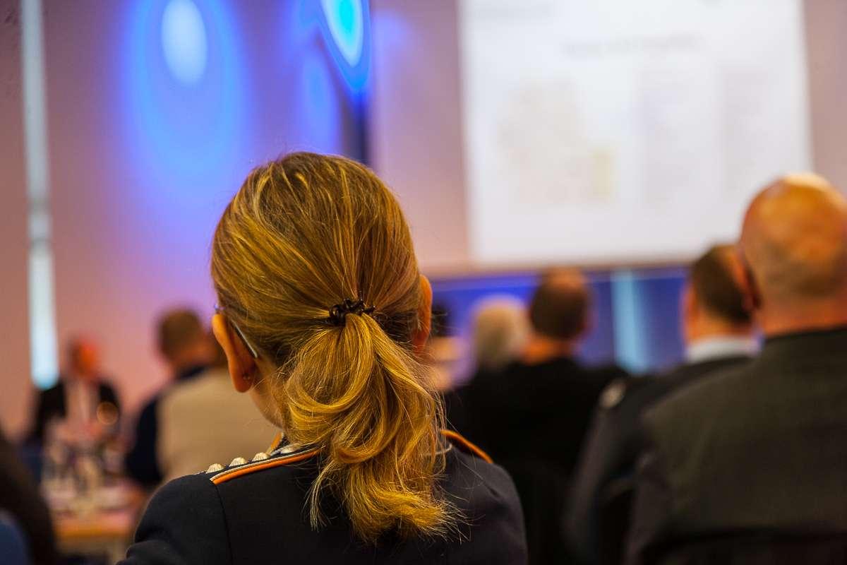 Teilnehmerin am III. RotorDrone Forum Bückeburg