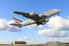 A380 Air France Start