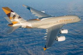 A380 Etihad Flug