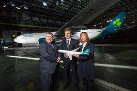 Aer Lingus neue Lackierung 2019 - Präsentation 2