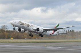 Emirates Boeing 777-300ER finale 146 Auslieferung