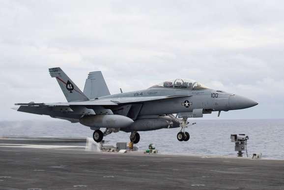 Boeing F-18F US Navy Start