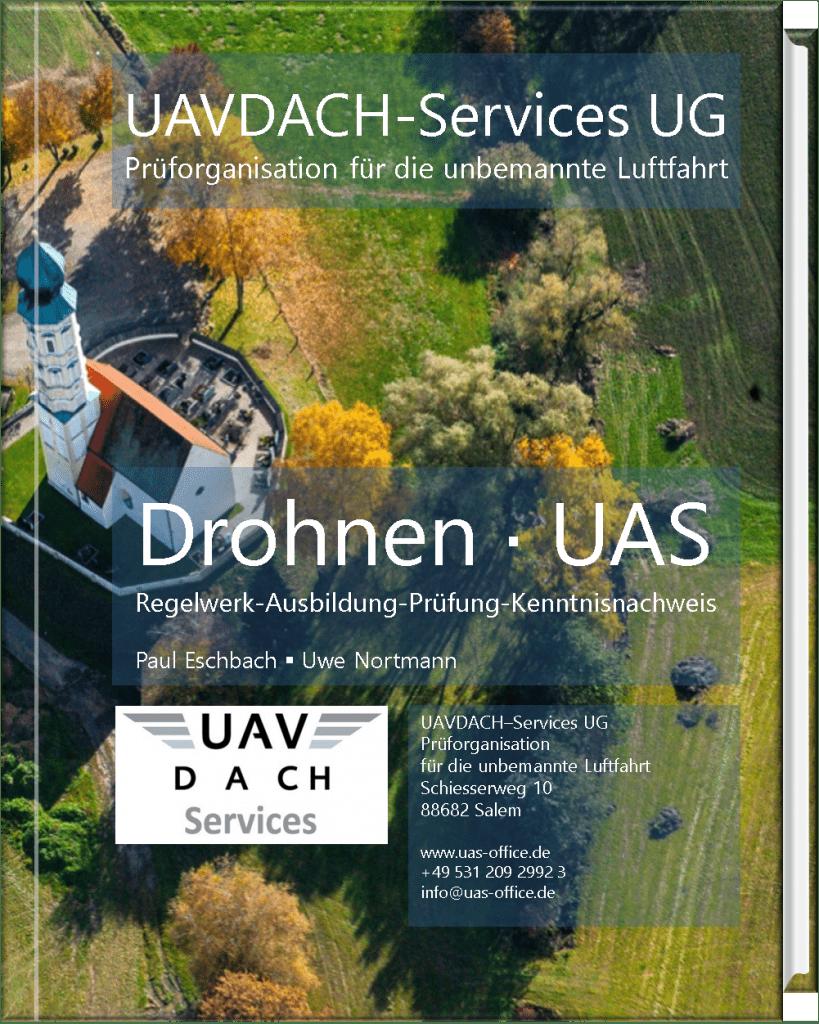 Buch Drohnen-UAS von Paul eschbach und Uwe Nortmann