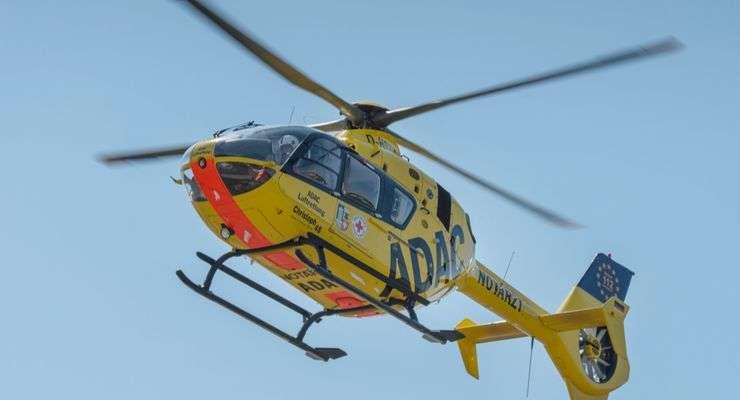 Ec135 der ADAC Luftrettung