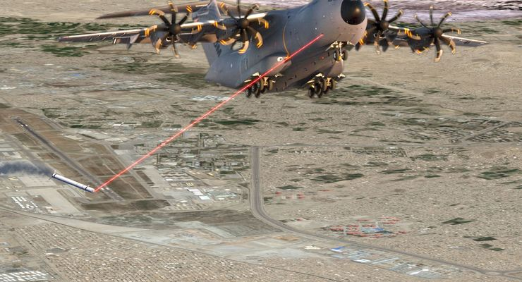 A400M mit DIRCM-System