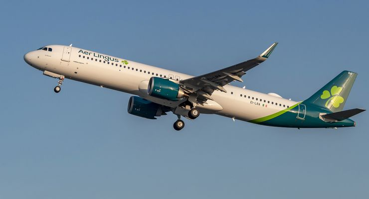 Der erste Airbus A321 für Aer Lingus wurde in Hamburg übergeben.