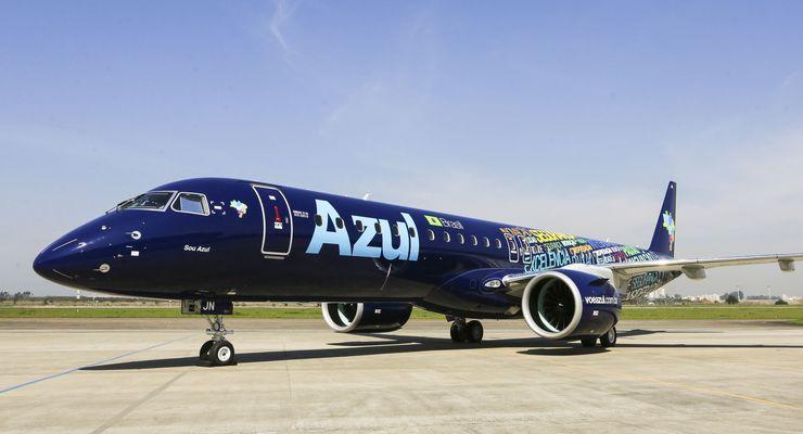 Embraer E195-E2 - erste Lieferung an Azul im September 2019