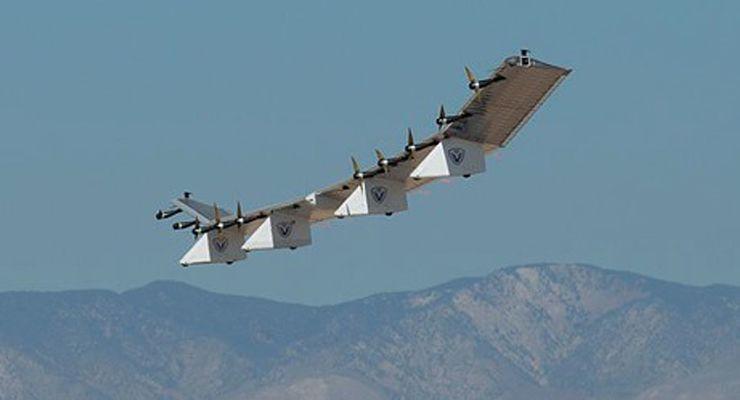 AeroVironment HAWK30 beim Erstflug im September 2019