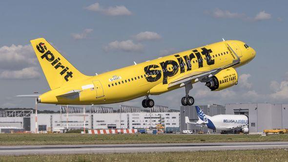 Airbus A320neo für Spirit.