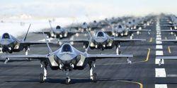 """Lockheed Martin F-35A """"Elephant Walk"""" auf der Hill AFB im Januar 2020"""