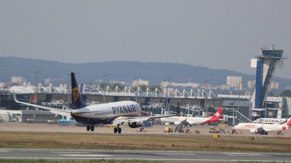 Ryanair Anflug