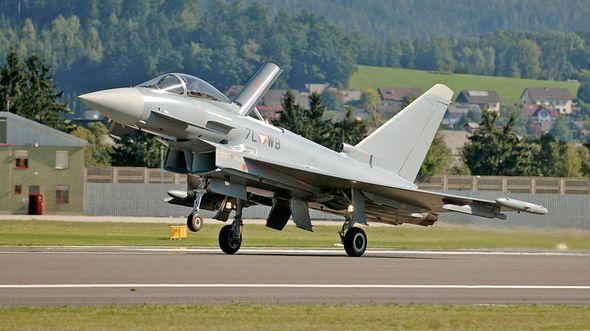 Eurofighter der österreichischen Luftstreitkräfte.
