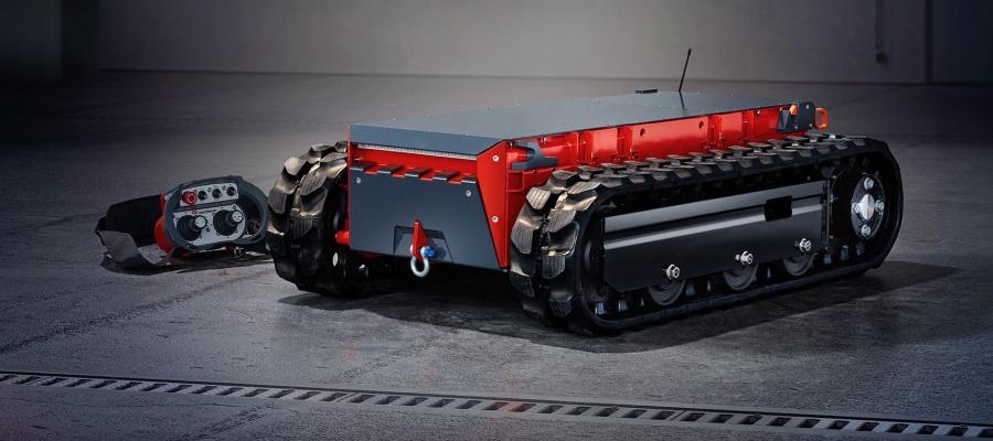 Rosenbauer stellt Roboterfahrzeug für Rettungskräfte vor
