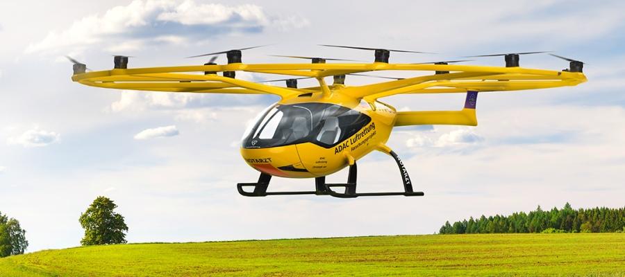 Machbarkeitsstudie: Luftrettung mit bemannten Drohnen