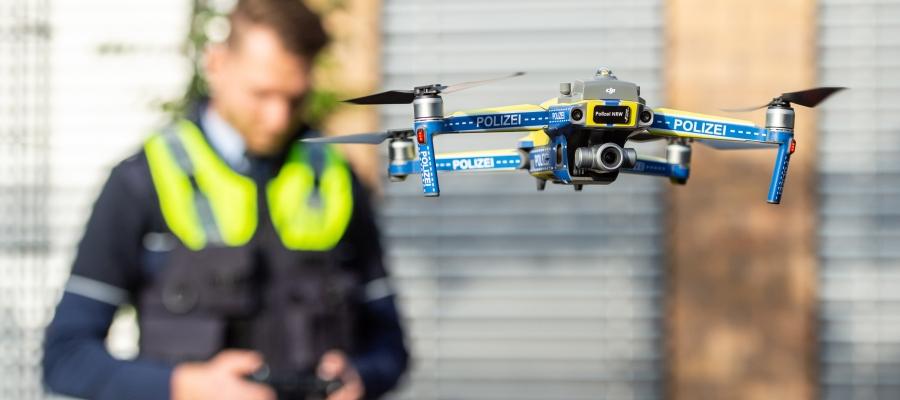 Polizei in NRW weitet Drohnennutzung massiv aus