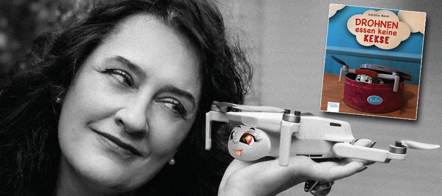 """""""Drohnen essen keine Kekse"""": Kinderbuch von Kerstin Bach"""