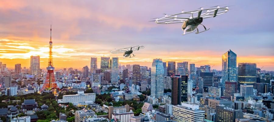 Volocopter und JAL vereinbaren Kooperation zur Markterschließung