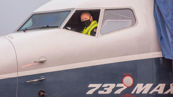 FAA-Administrator Steve Dickson hat sich am 30. September 2020 persönlich ans Steuer einer modifzierten Boeing 737 MAX 7 gesetzt.