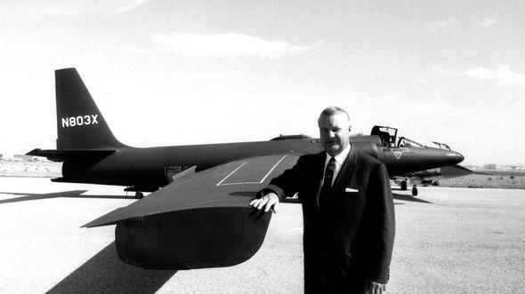 Kelly Johnson führte die U-2 zum Erfolg.